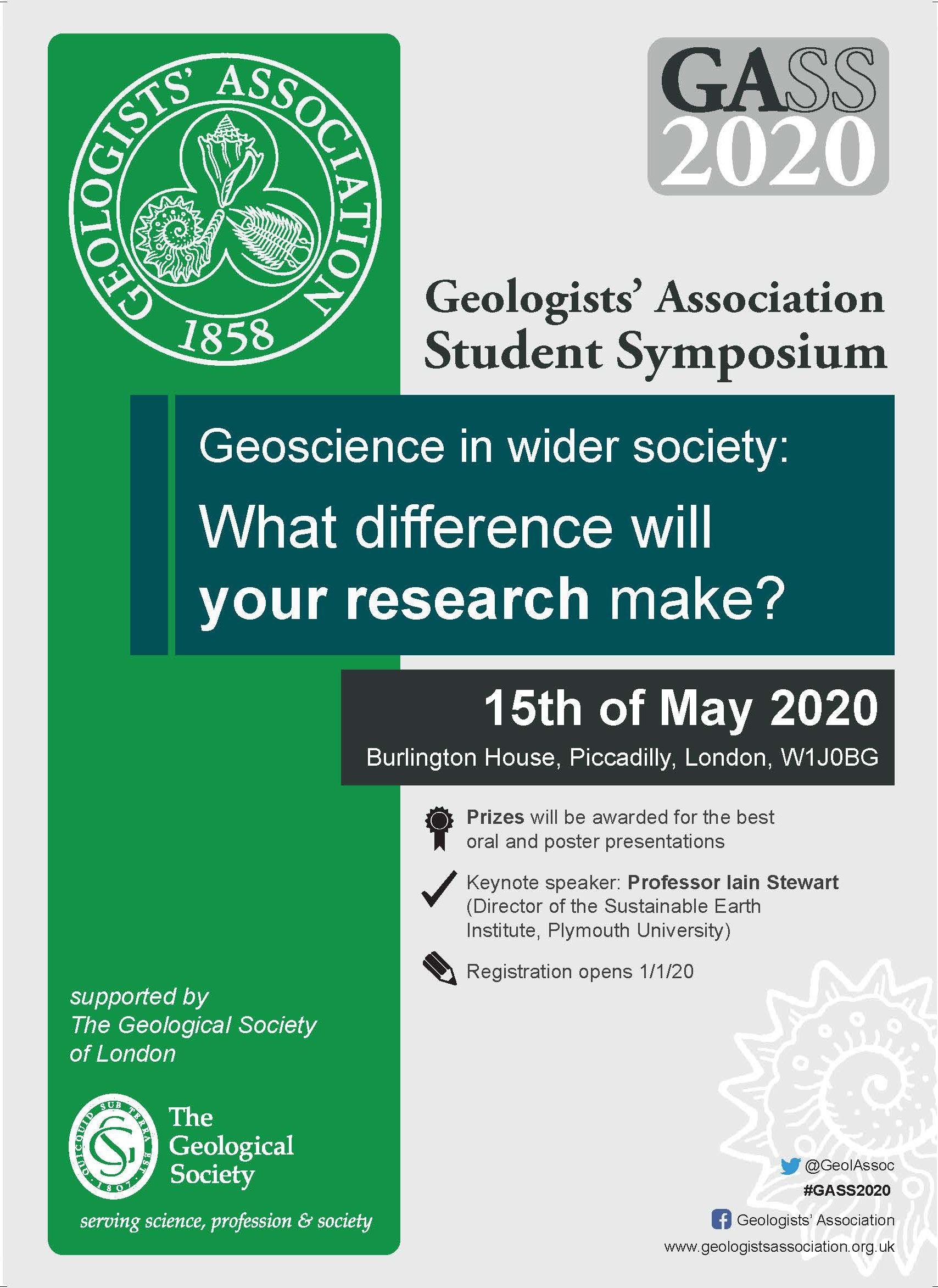 GASS 2020 flyer